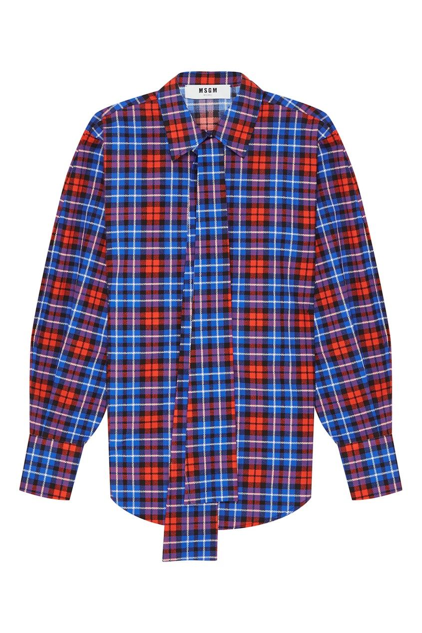женская рубашка msgm