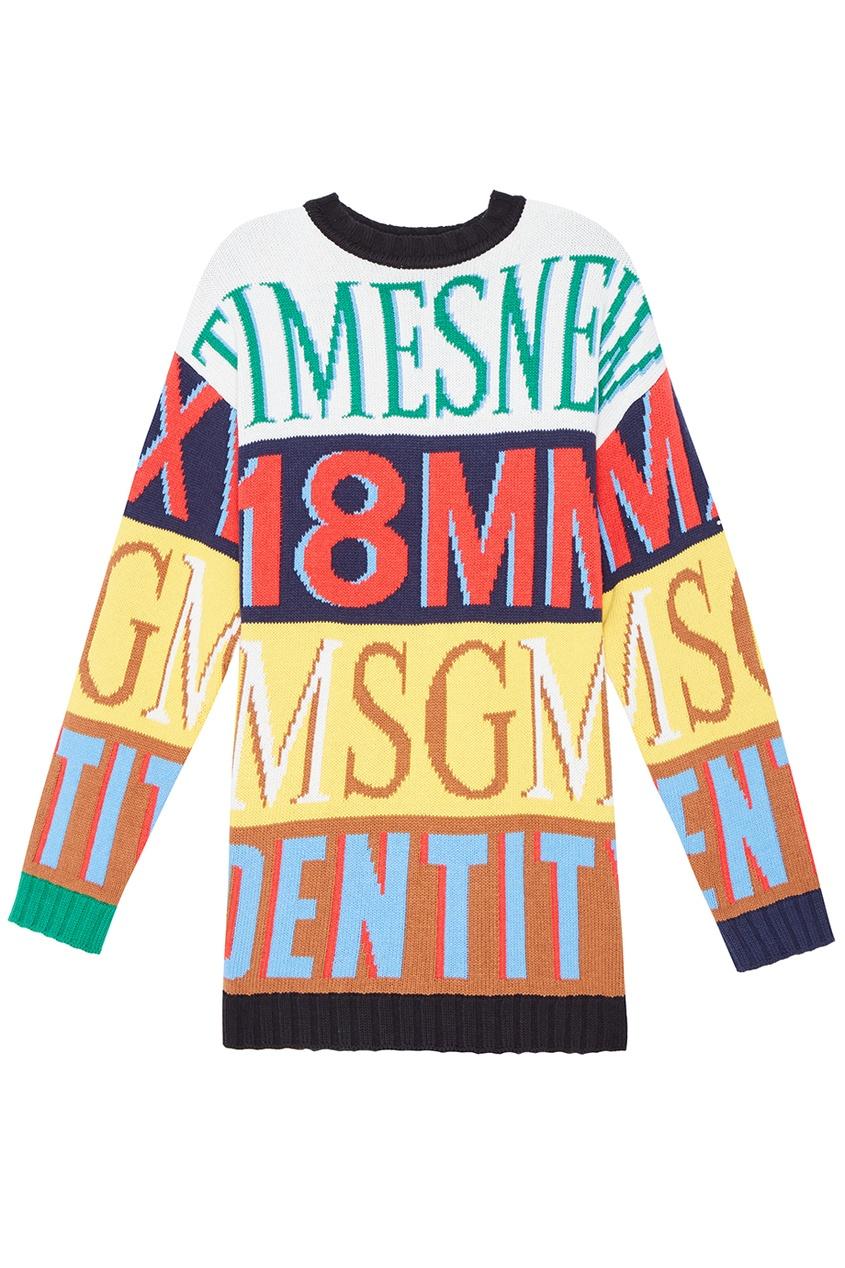 женский свитер msgm
