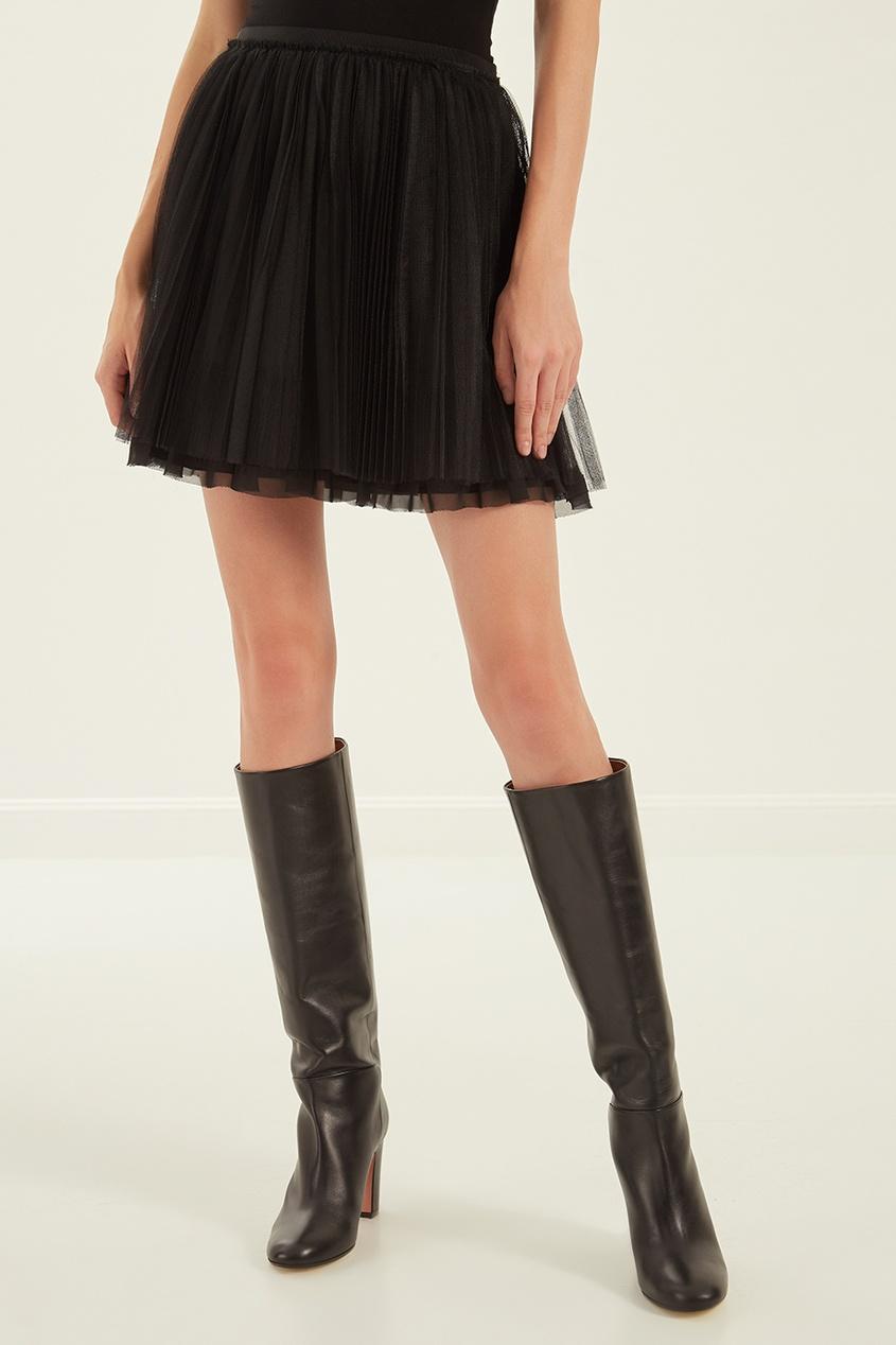 женская юбка red valentino, черная