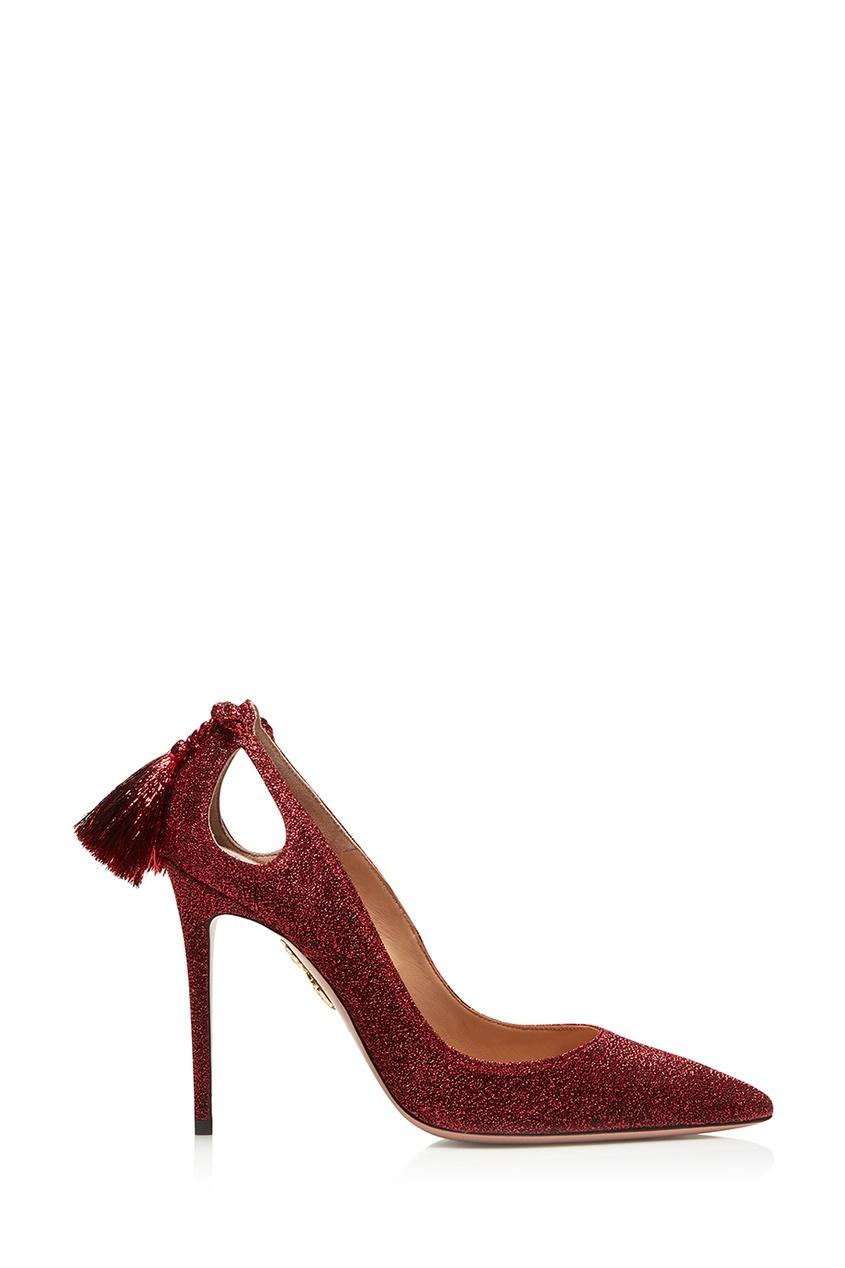Красные туфли Forever Merilyn 105 Aquazzura