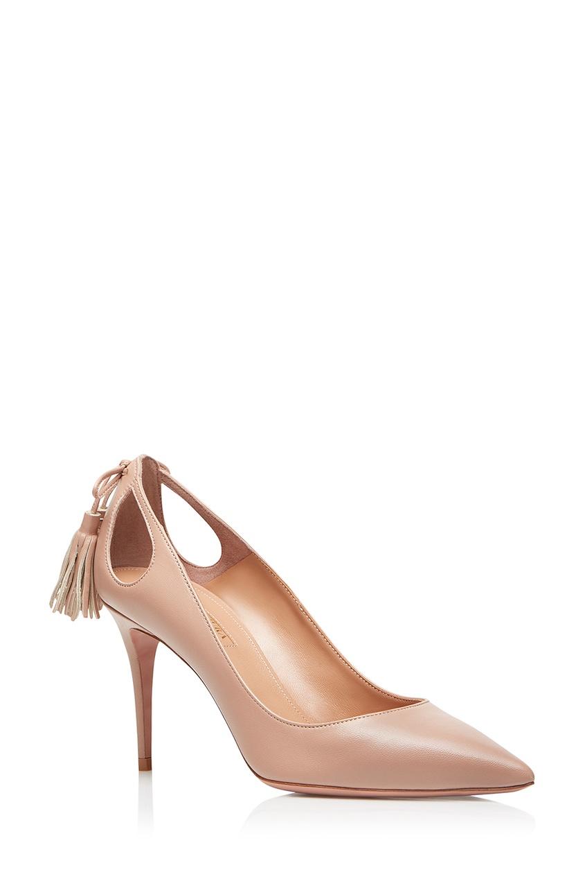 женские туфли aquazzura, розовые