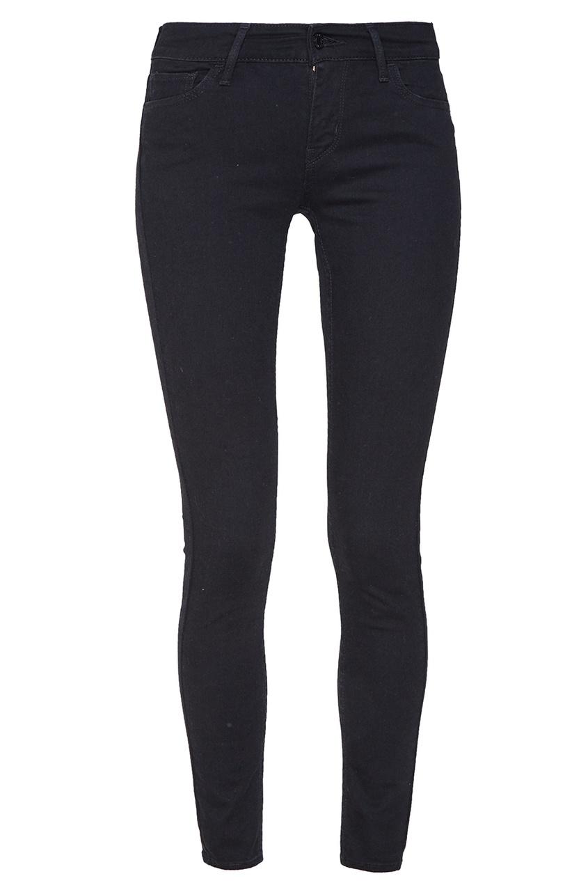 Levi's® Черные джинсы-скинни