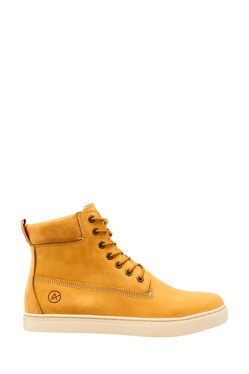 Купить со скидкой Желтые кожаные ботинки Philadelphia