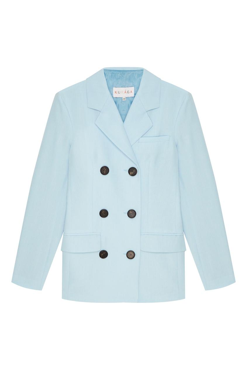 Купить со скидкой Двубортный пиджак