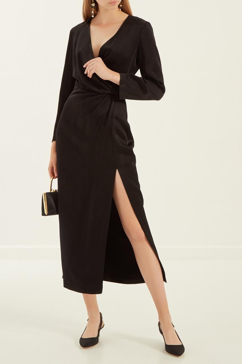 женское платье laroom, черное