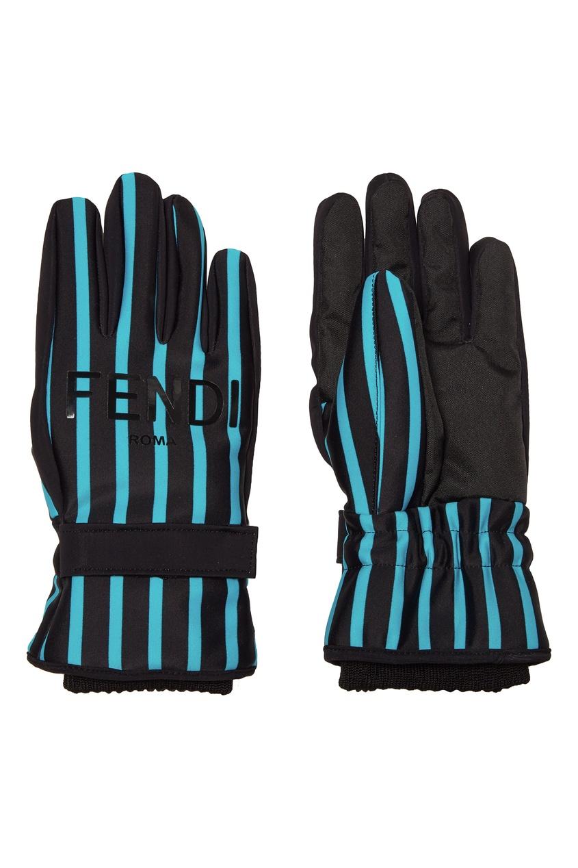 женские перчатки fendi