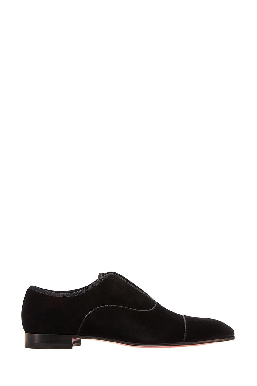 Черные туфли Alpha Male Christian Louboutin