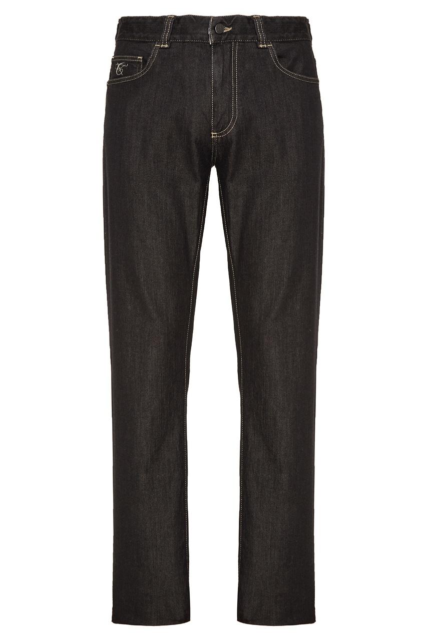 мужские джинсы canali, серые