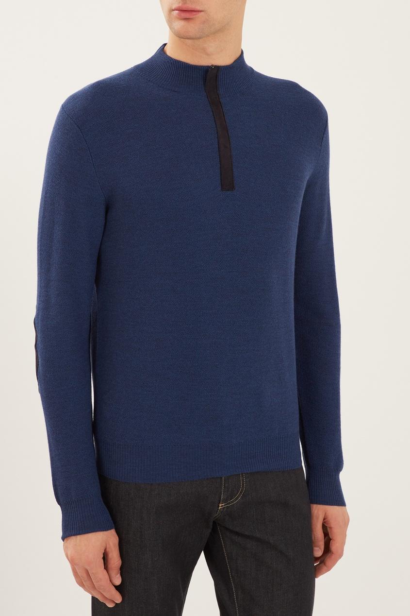 мужской свитер canali, синий