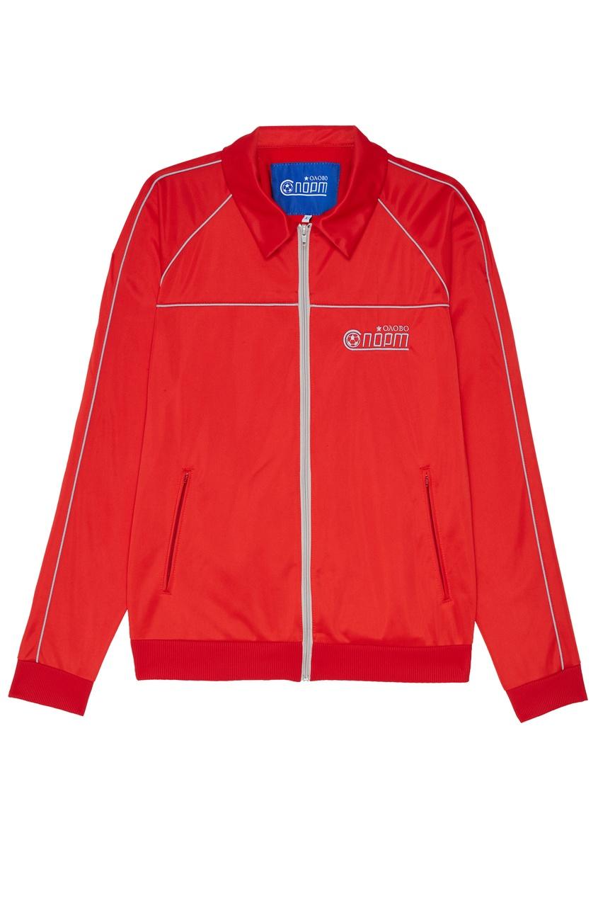 Красный спортивный костюм ОЛОВО