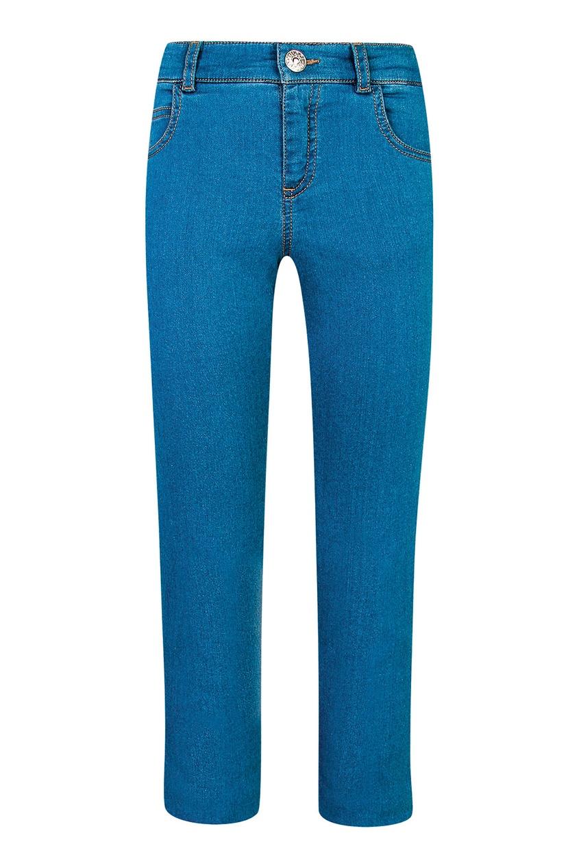 Голубые джинсы Gucci Kids