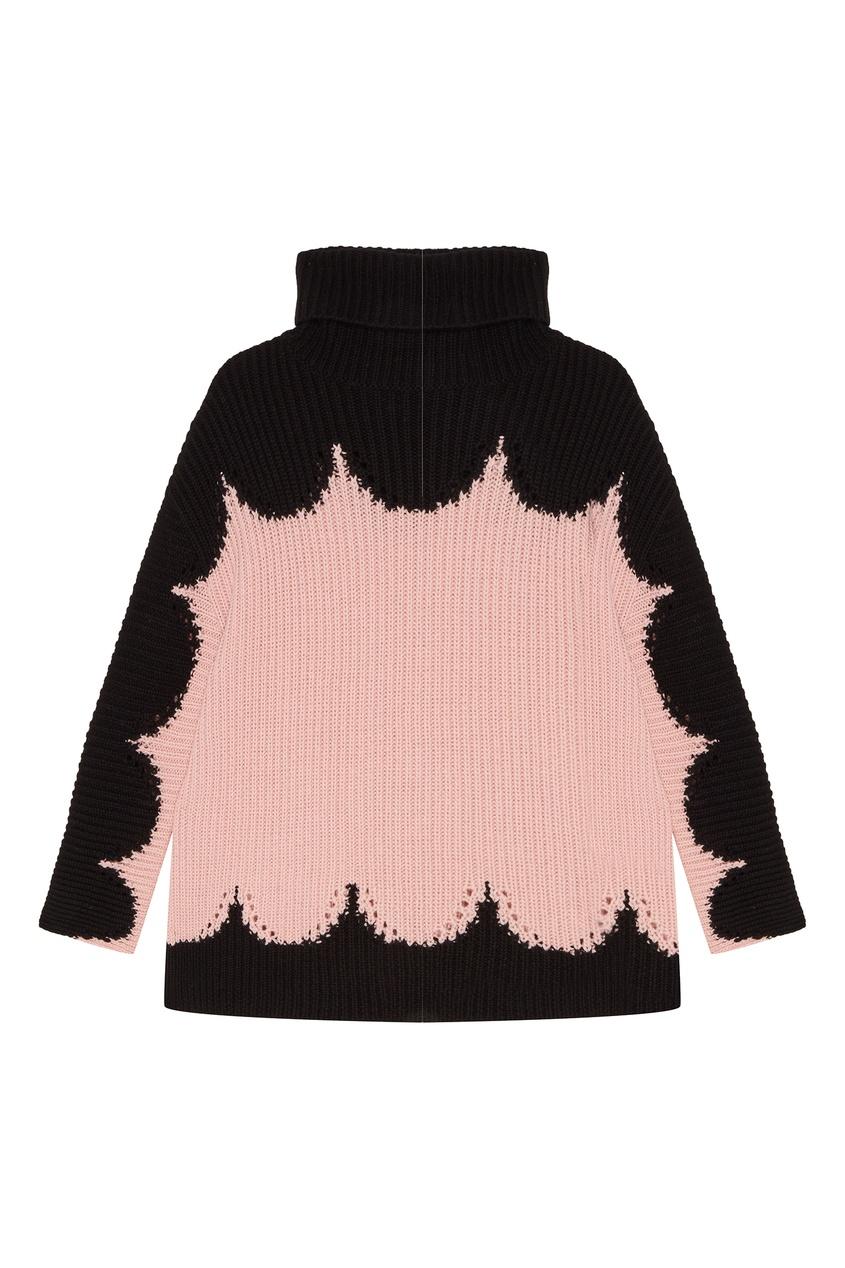 женский свитер valentino, розовый