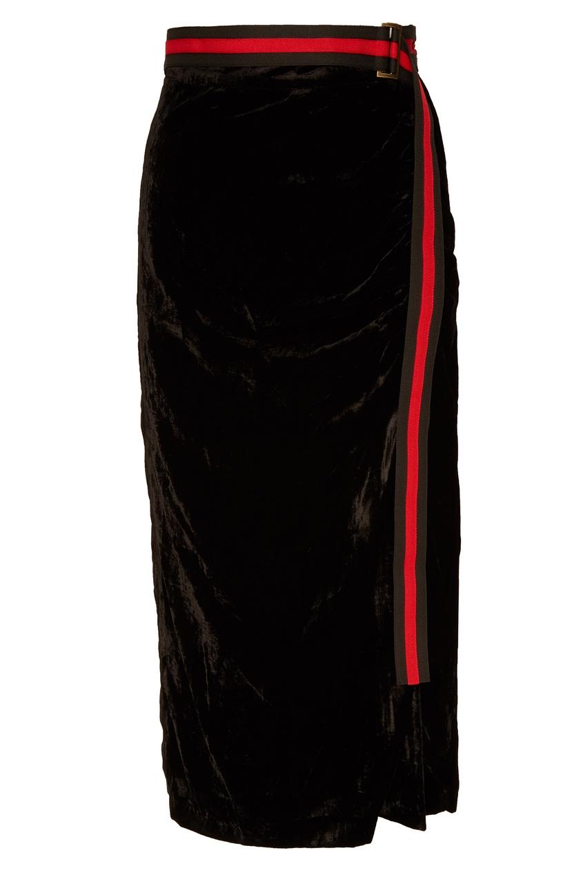 женская юбка laroom, черная