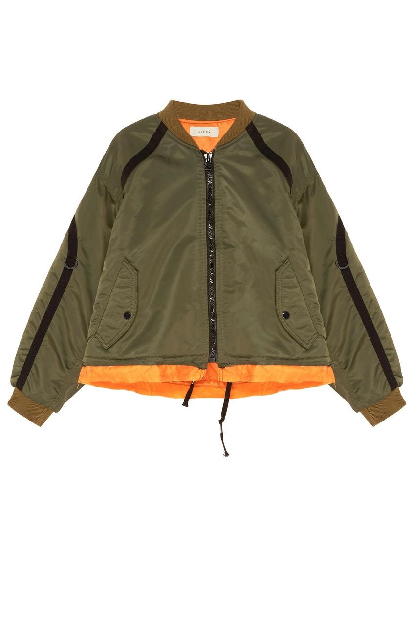 Купить Зеленая куртка зеленого цвета