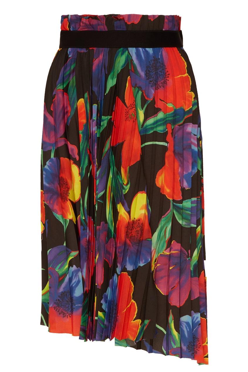 женская плиссированные юбка balenciaga