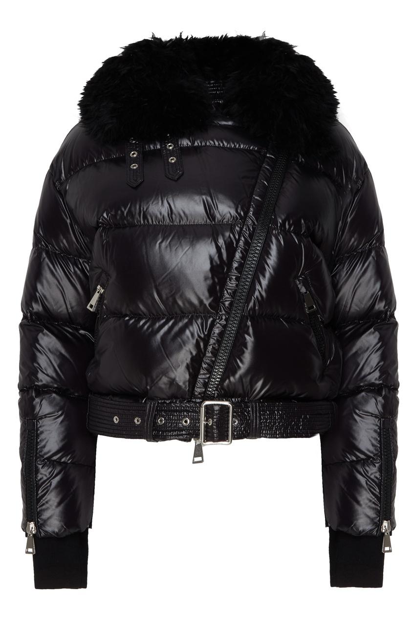 женская куртка moncler, черная