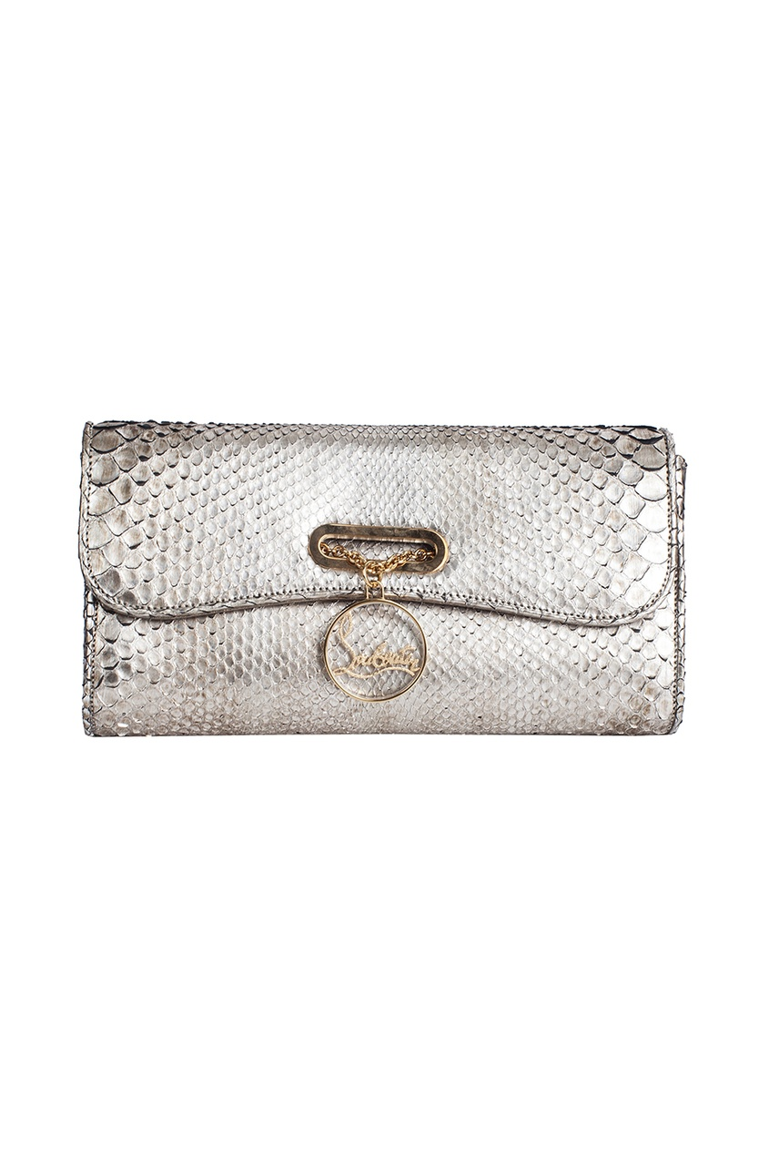 Кожаная сумка Riviera Clutch Python Cosmo