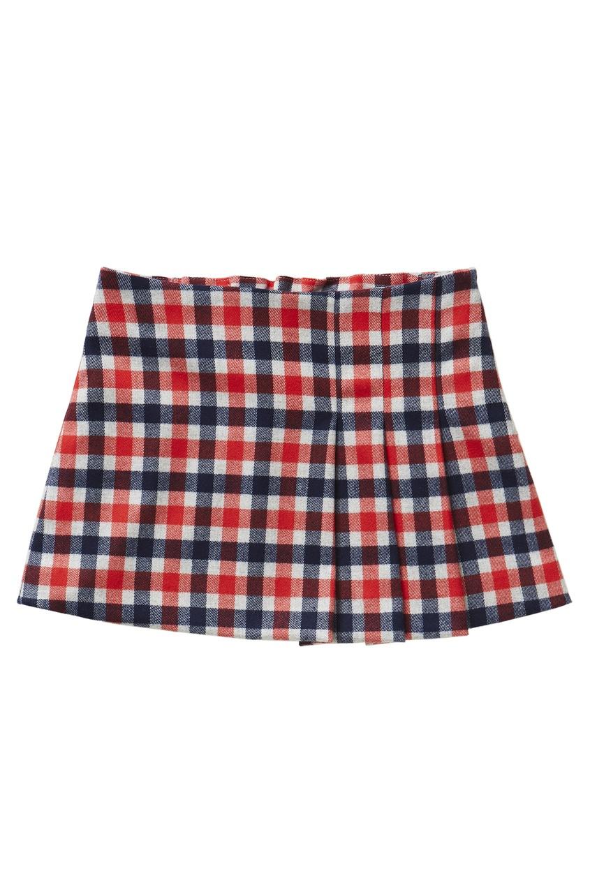 Купить со скидкой Мини-юбка в клетку