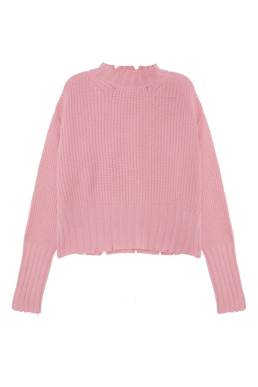 женский джемпер msgm, розовый