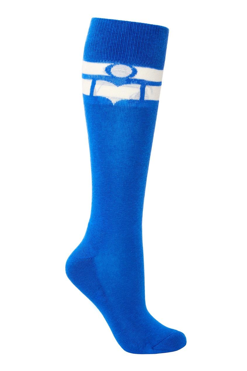Синие хлопковые носки Vibe