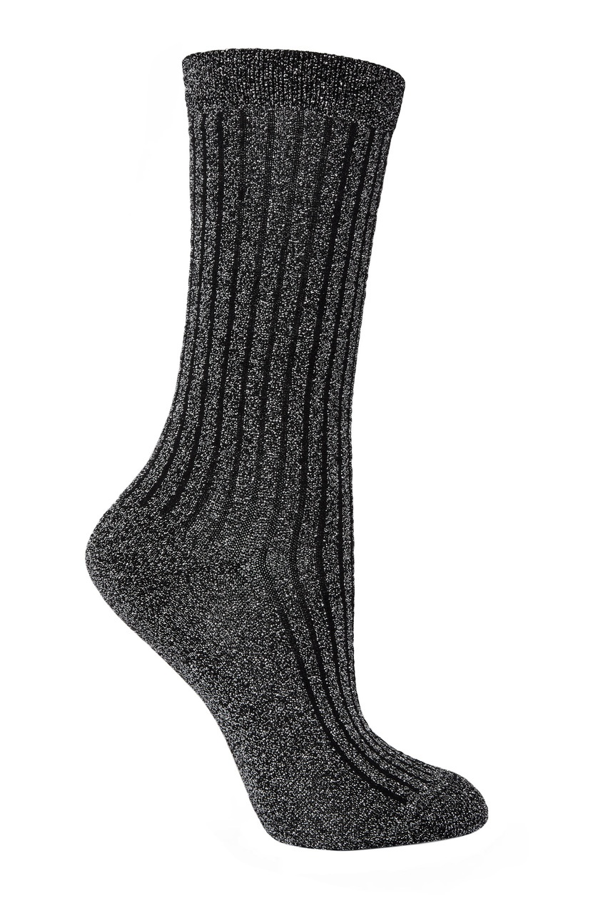 Серебристые носки Lulu