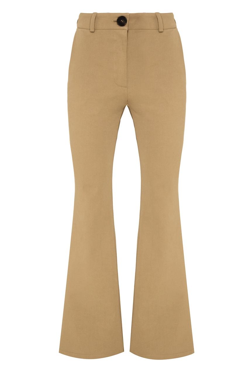 Купить со скидкой Расклешенные брюки