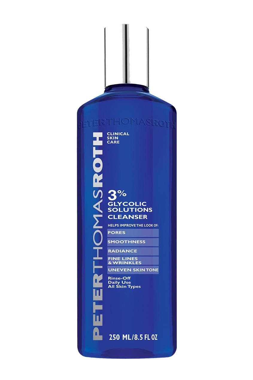 Очищающий гель для лица с 3% гликолевой кислоты 250 ml.