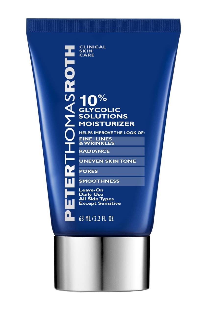 Увлажняющий крем для лица с 10% гликолевой кислоты 63 ml.
