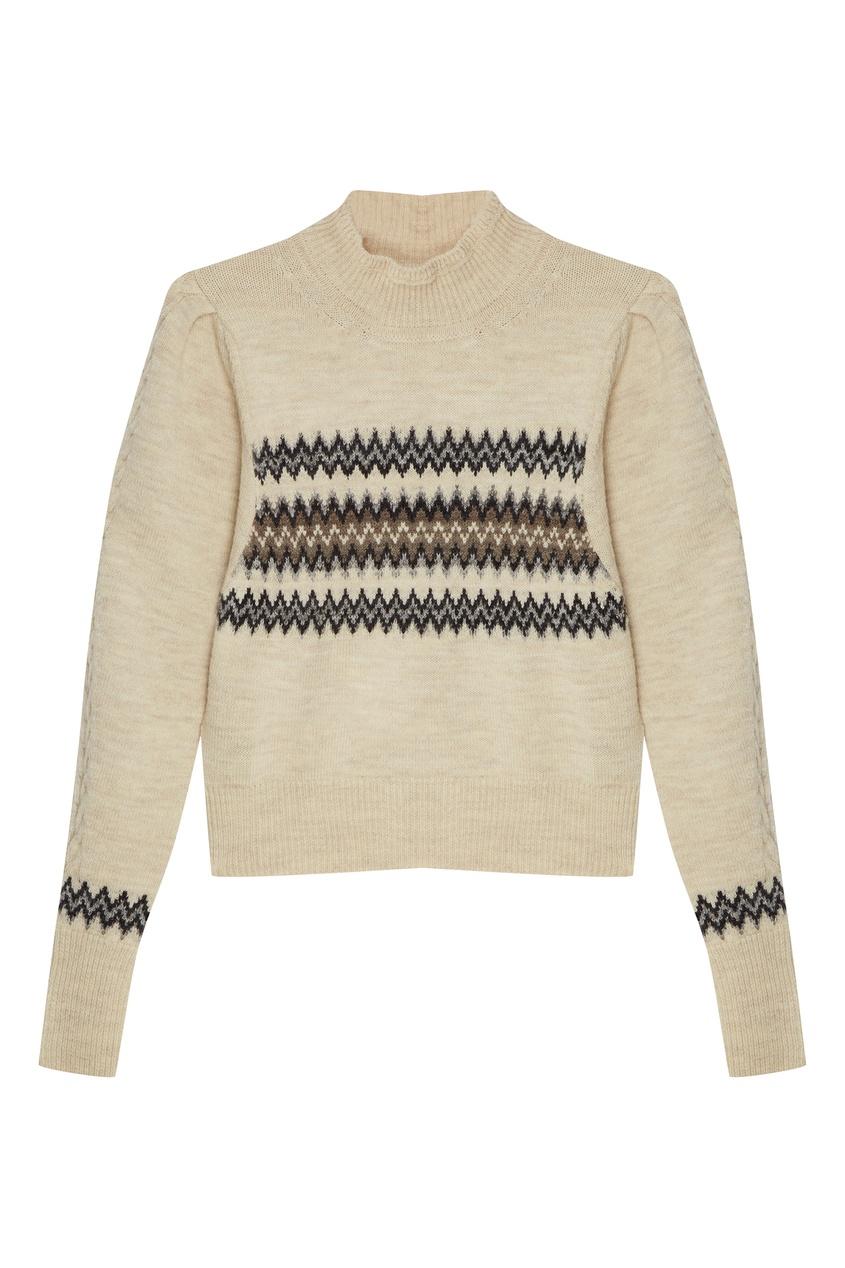 женский свитер isabel marant, бежевый