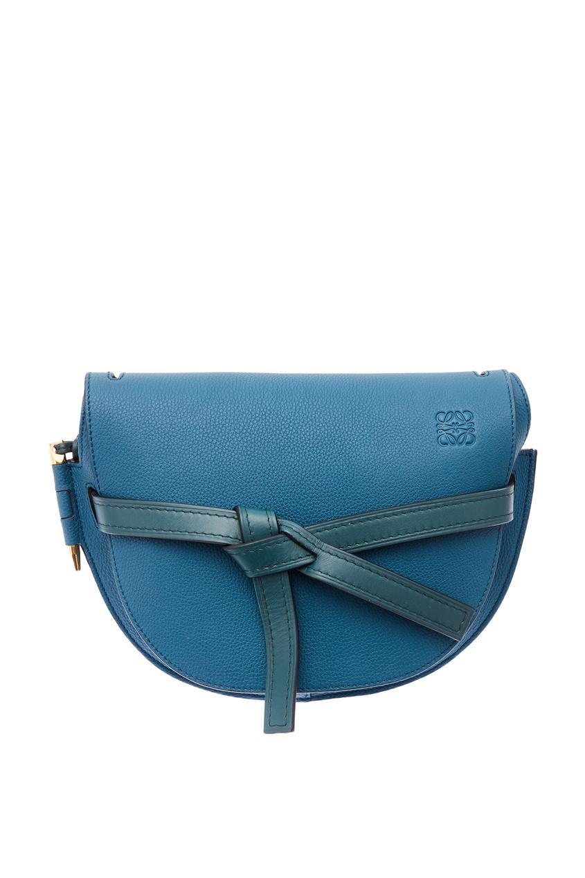 Бирюзовая сумка Gate Loewe