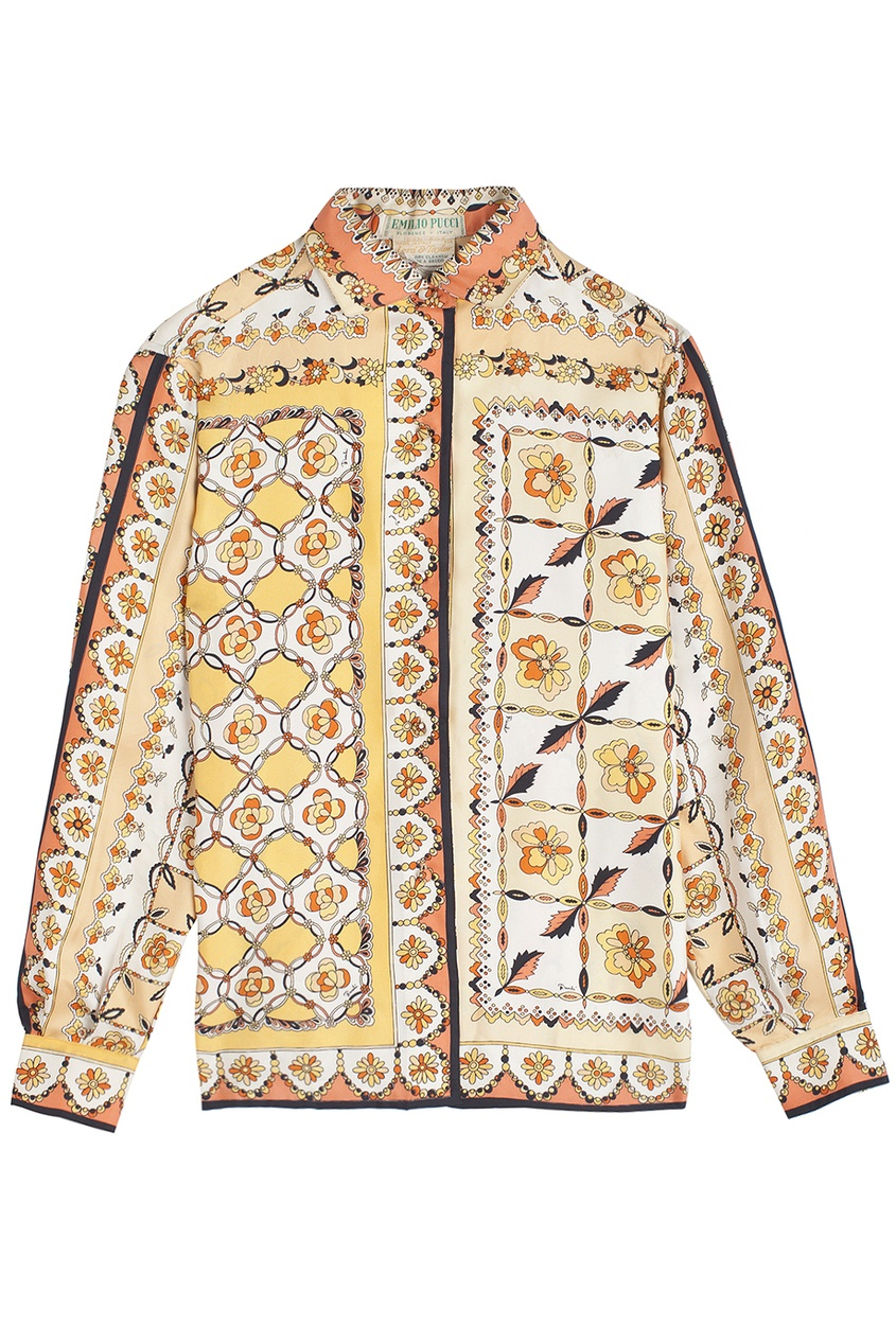 Шелковая рубашка (60-e гг.)