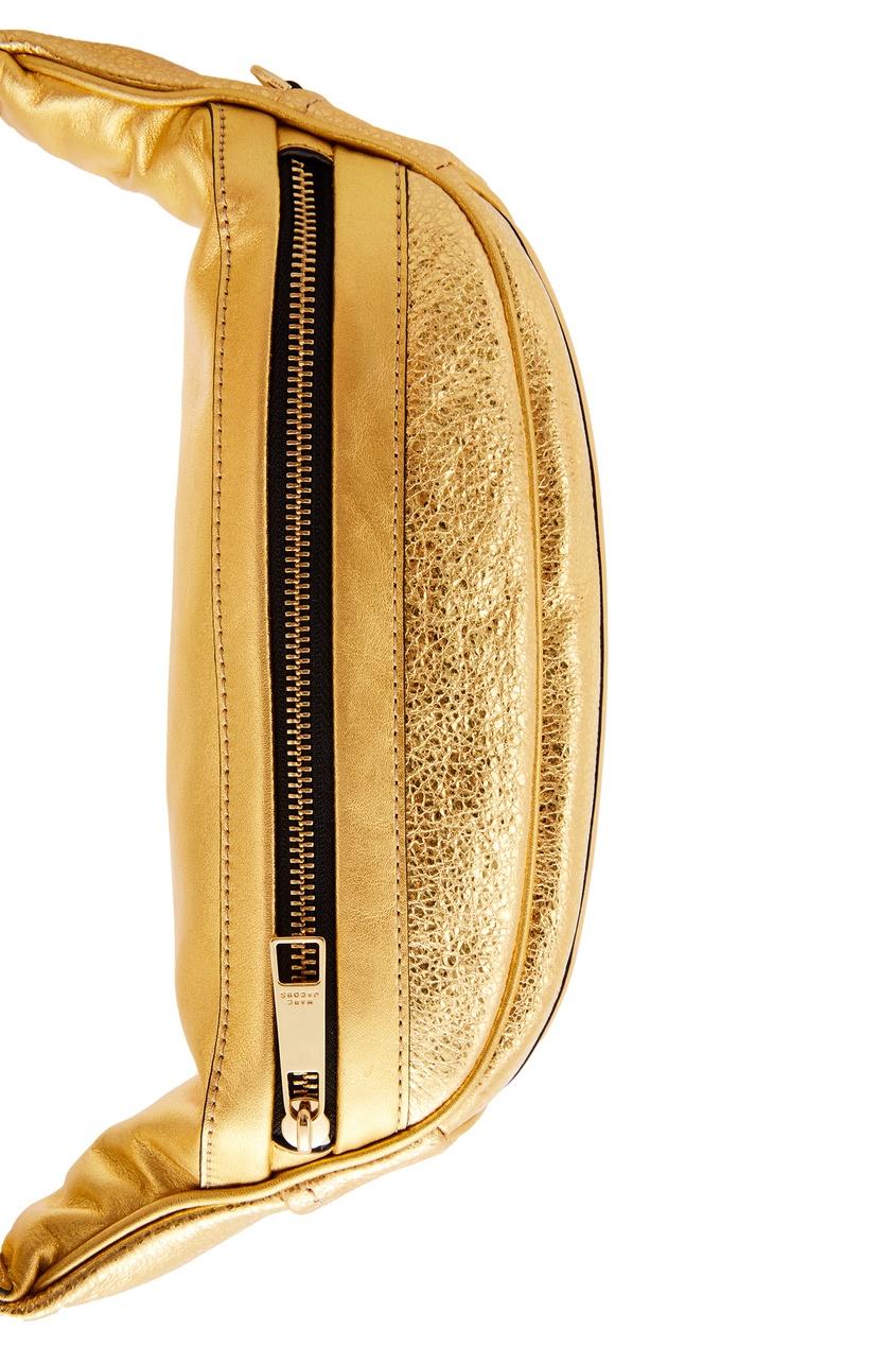 женская сумка marc jacobs, золотая