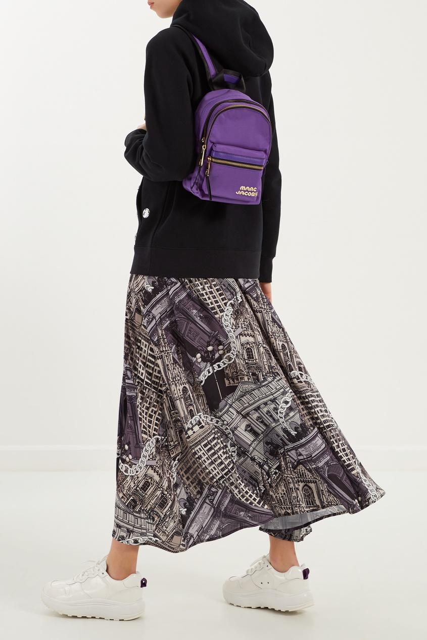 женский рюкзак marc jacobs, фиолетовый