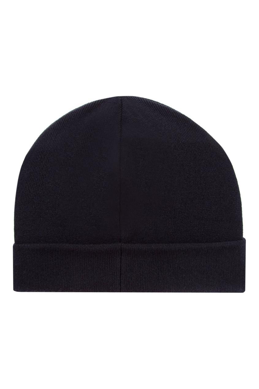 женская шапка balmain, черная