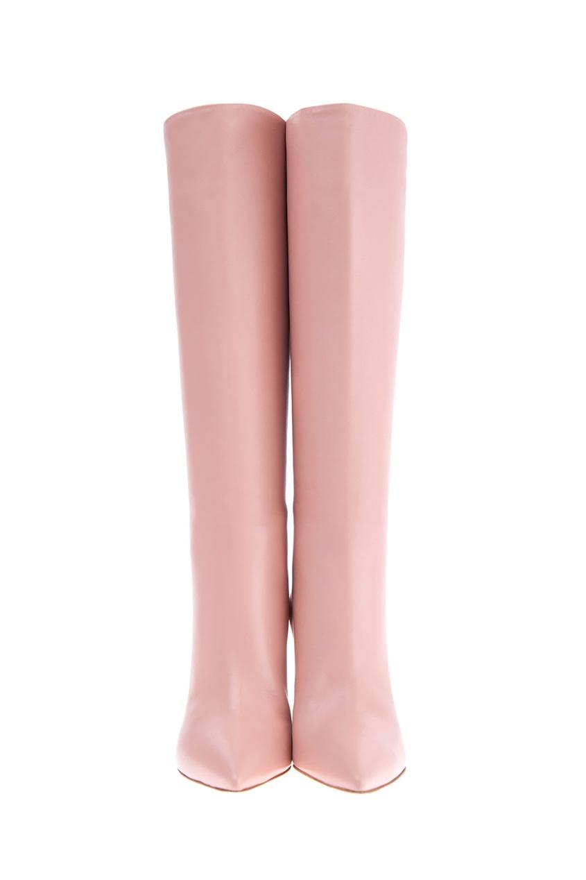 женские сапоги gianvito rossi, розовые