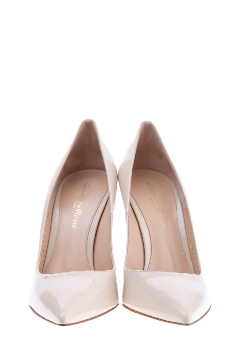 женские туфли gianvito rossi, бежевые