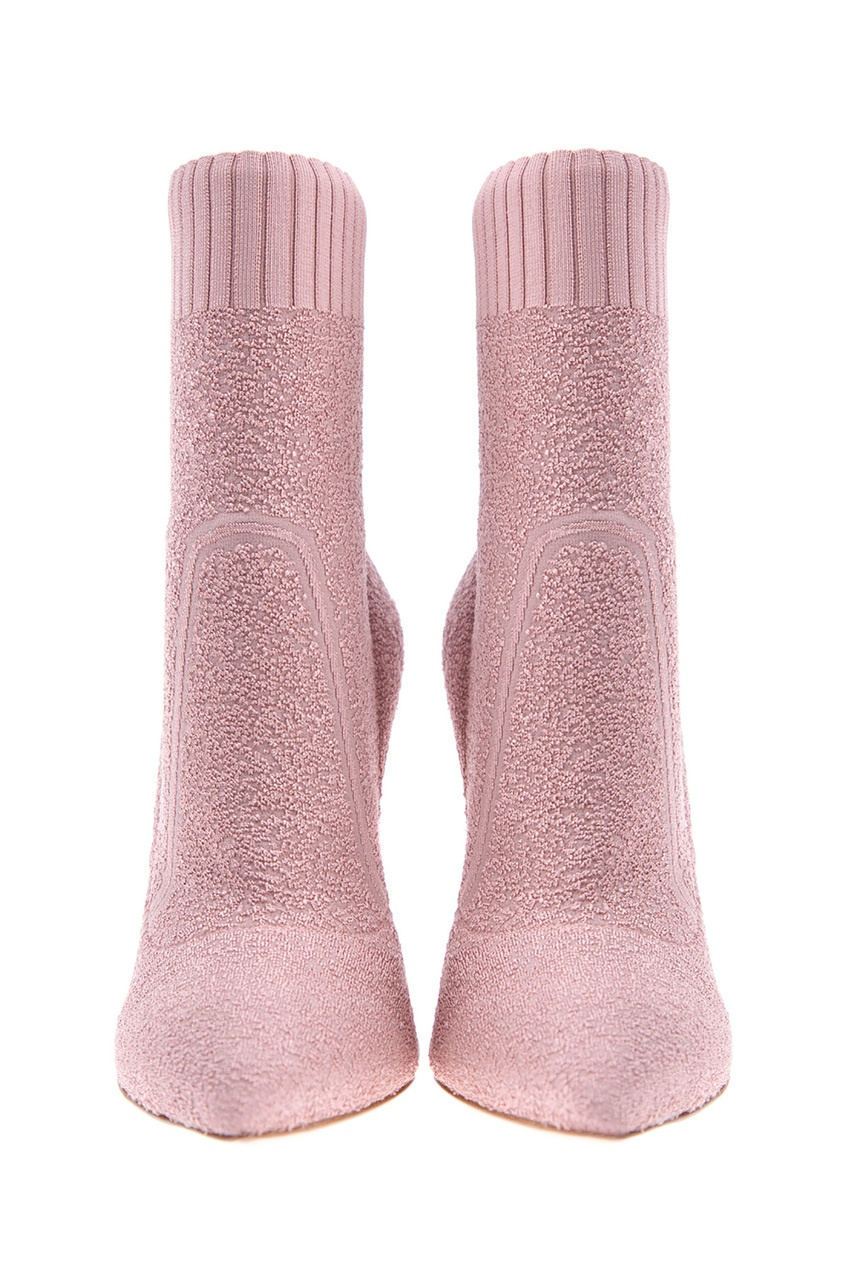 женские ботильоны gianvito rossi, розовые