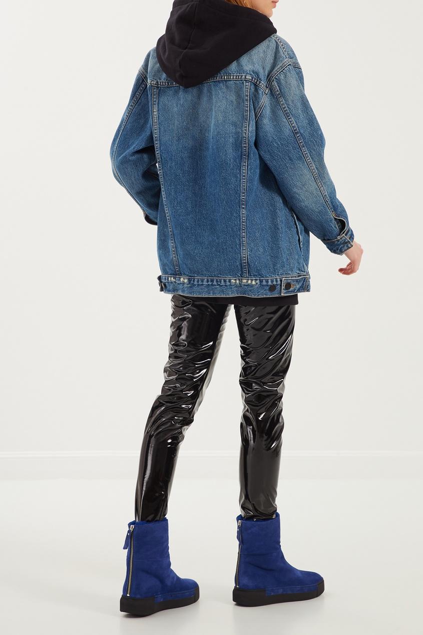 женские ботинки vic matie, синие