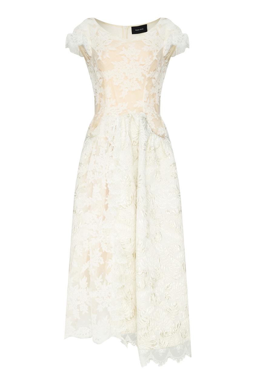 Кружевное платье миди SIMONE ROCHA