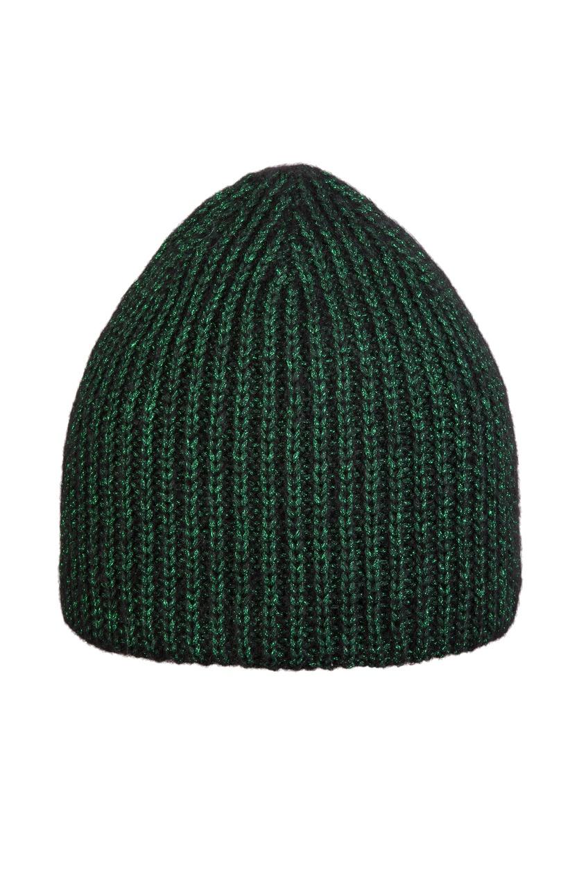 женская шапка canoe, зеленая