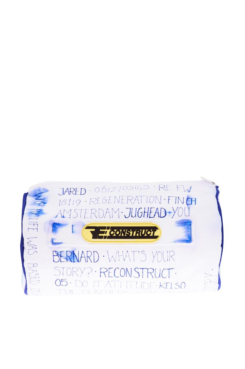 Белая хлопковая сумка Reconstruct Collective