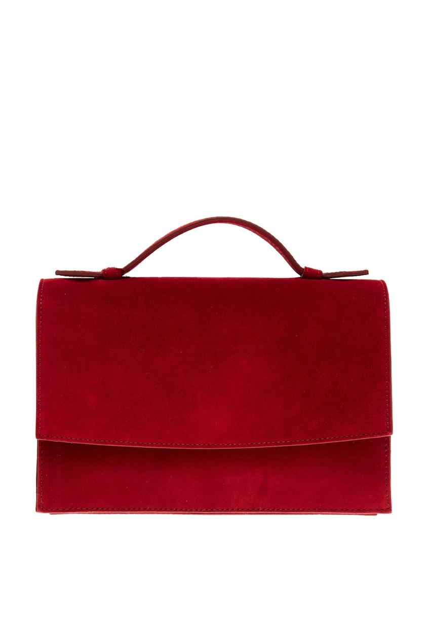 женская сумка max mara, красная