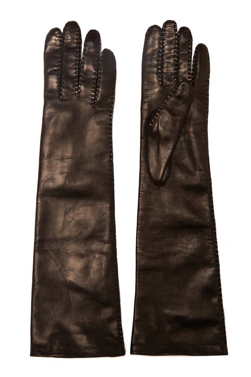 Коричневые перчатки от Max Mara