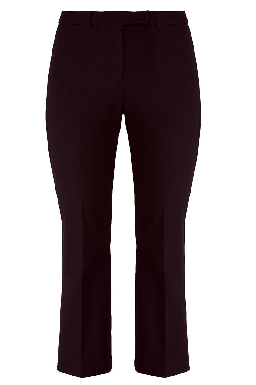 Черные расклешенные брюки Max Mara
