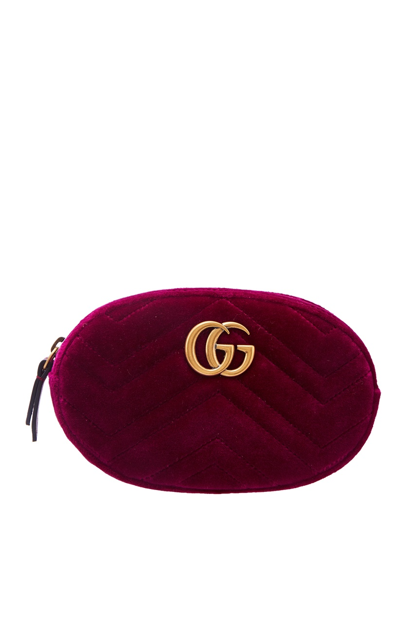 женская сумка gucci, фиолетовая