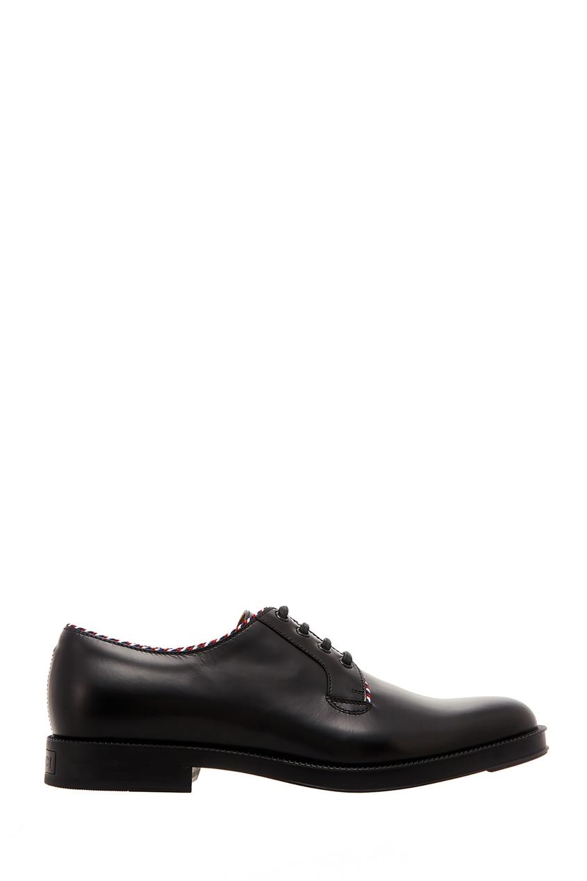 Черные ботинки с контрастной отделкой Gucci Man