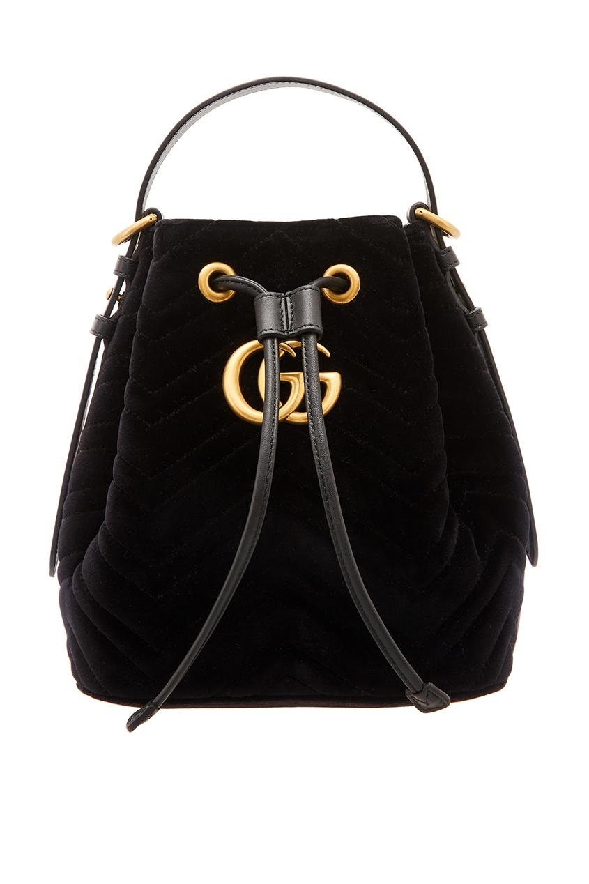 женский рюкзак gucci, черный