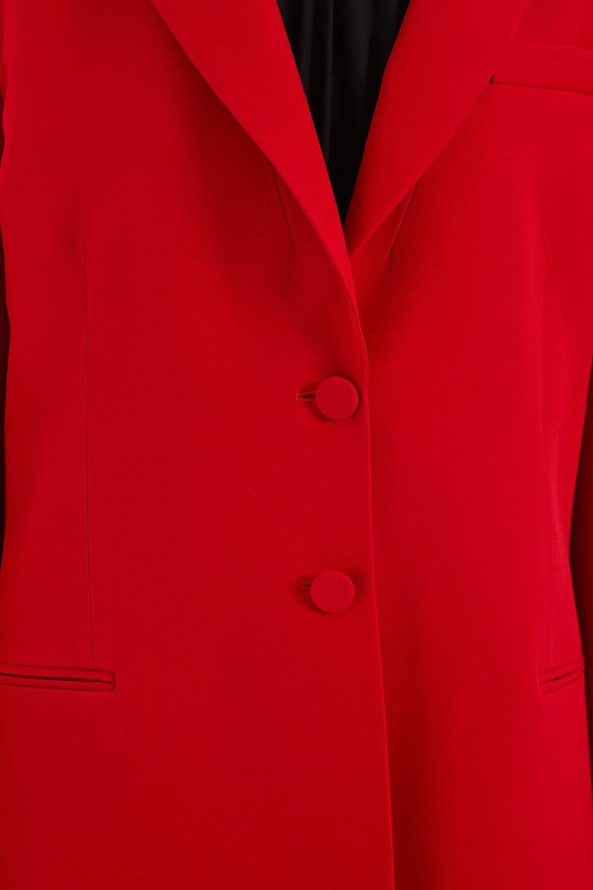 женский жакет valentino, красный