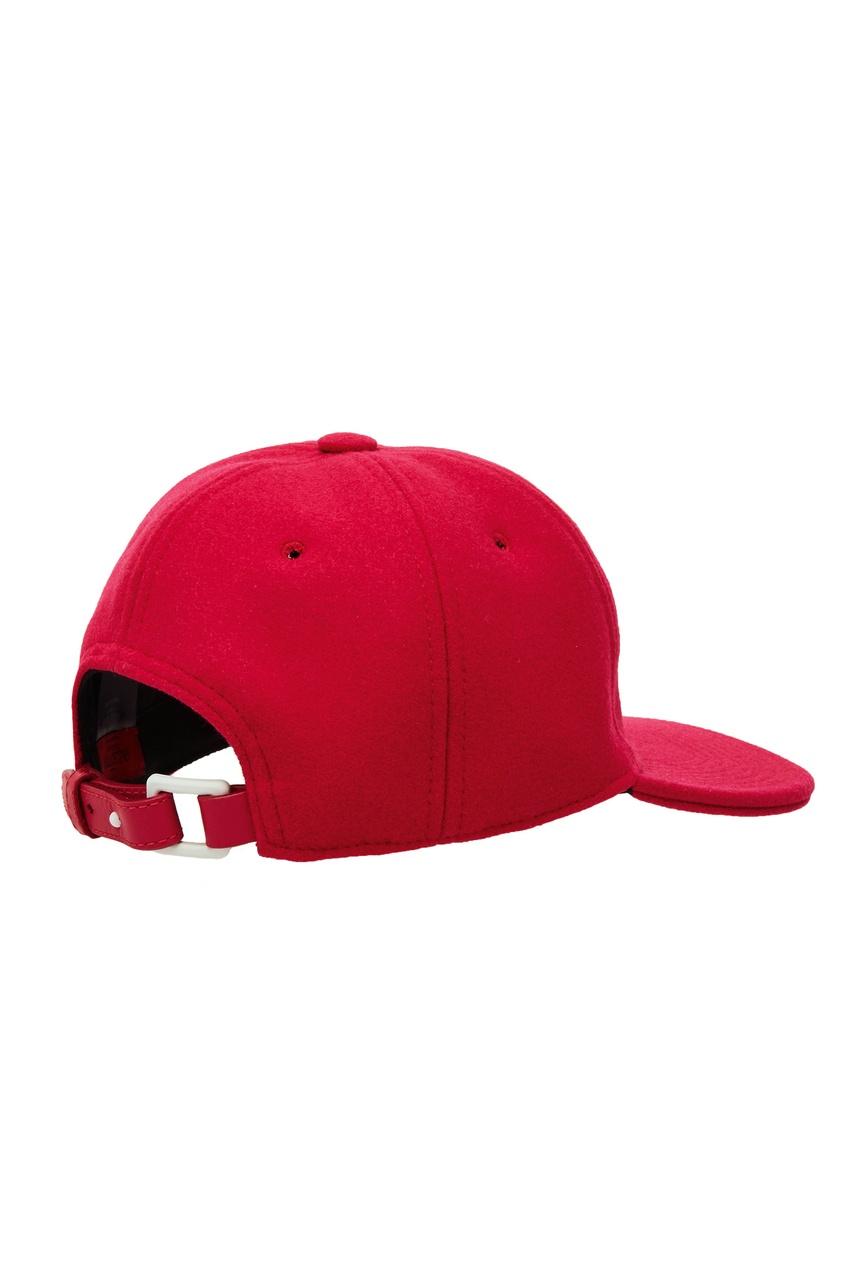 женская бейсболка valentino, розовая