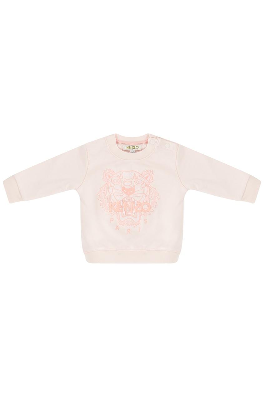 Купить со скидкой Розовый свитшот с тигром